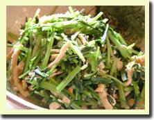 京壬生菜とおあげのたいたん